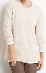 Pure Jill Pullover Størrelse Heather Hvede ~ Plush M J 79 Nwt Sweater Boucle S5qaxITTdw