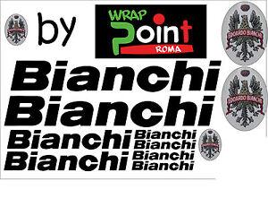 KIT-n11-ADESIVI-PRESPAZIATI-BICI-BIANCHI-con-application-marca-3M-logo-a-colori