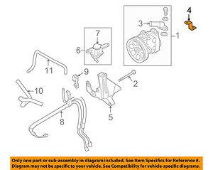 image is loading subaru-oem-04-13-forester-steering-power-steering-