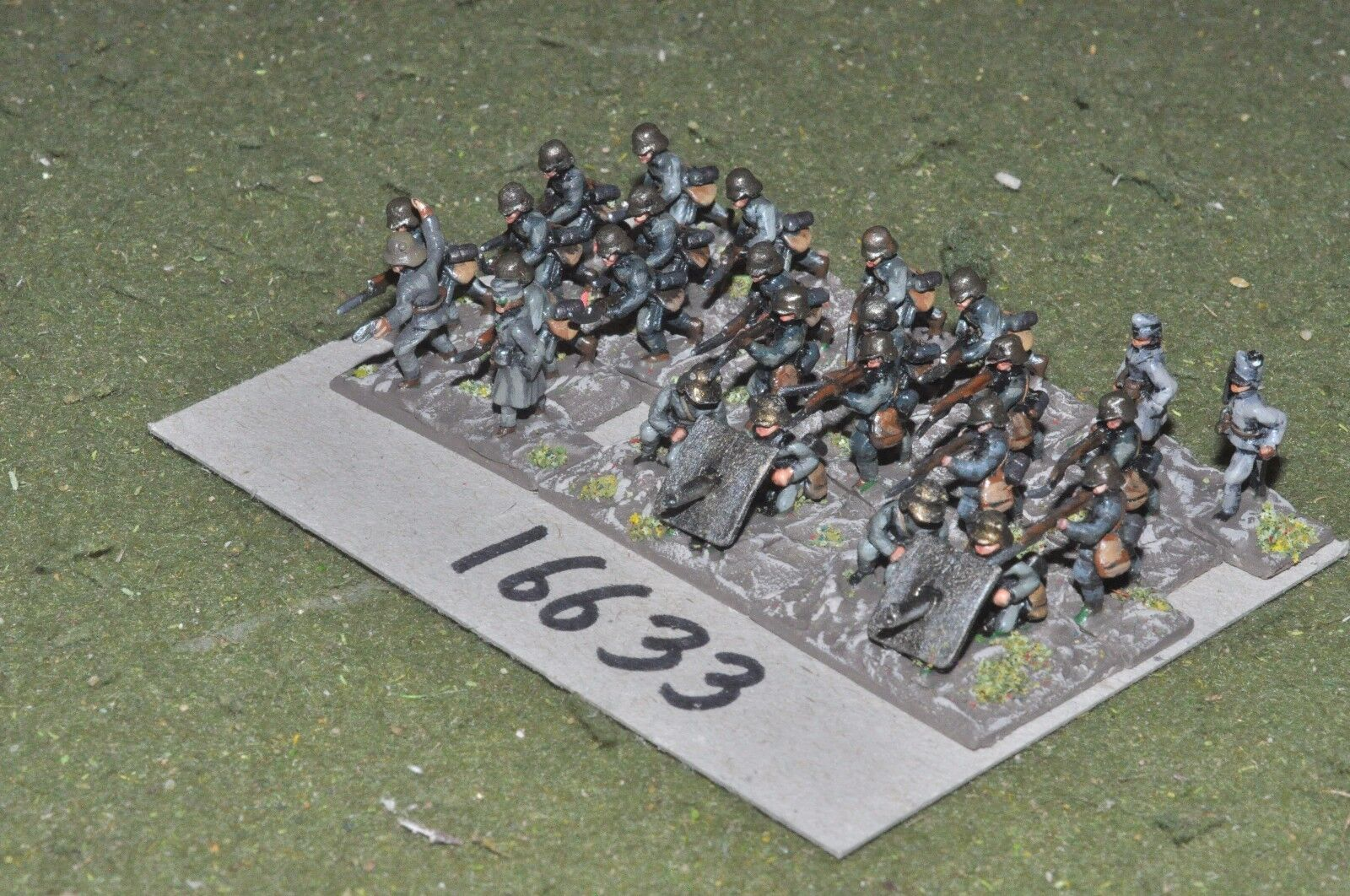 15mm WW1   austro hungarian - infantry 26 figures - inf (16633)