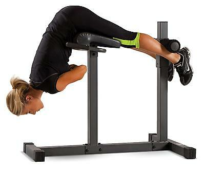 CAP Strength Deluxe Roman Chair Hyperextension Bench Home Fitness Exercise Gym