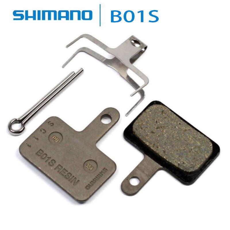 Original Shimano Scheibenbremsbelag B01S Resin M485 T675 M575 M525 M495 M475 ...