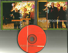 EUGE GROOVE Slam Dunk w/ RARE EDIT & RARE LINER Spoken Word PROMO DJ CD single