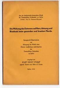 Dissertation-Veterinaer-Medizin-Pferde-Berlin-1932