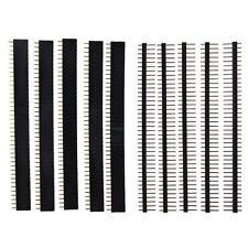 5 Pcs 40 Pin 2.54mm Single Row Straight Male Female Pin Header Strip L2