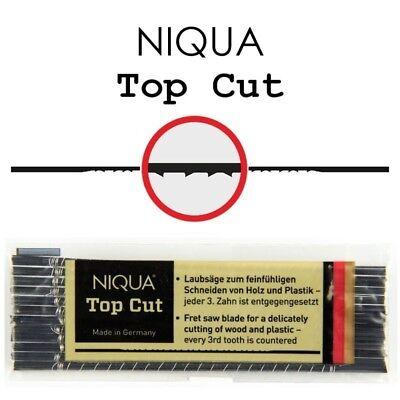 Niqua Fix Yellow 1A Quick cutting Scroll Saw Blades  ##2//0-18 Pack of 12 pcs