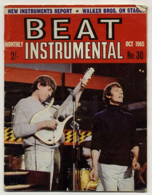 BEAT INSTRUMENTAL No 30 Oct 1965 Hollies Donovan Yardbirds Walker Bros Booker T
