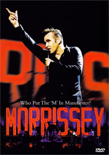 1 of 1 - Morrissey - Who Put The 'M' In Manchester (DVD)