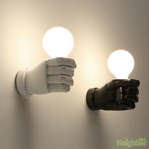 Details About New Contemporary Fist Wall Lamp Wall Light Wall Sconce Kids  Room Lighting