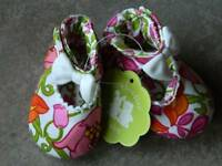 Size 0-6 Months Shoes Vera Bradley Lilli Bell,mary Jane Shoes,booties,crib Shoes