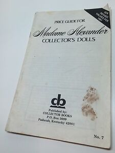 Collector-Books-Price-Guide-Pamphlet-Madame-Alexander-Collector-039-s-Dolls-1981