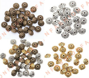 100pcs-Rondelle-Antique-Tibet-Silver-Bicone-Spacer-Beads-6mm-for-Jewelry-Making