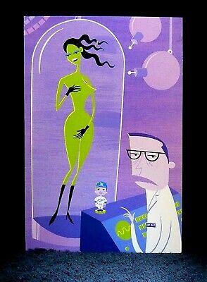 "/""THE BIRTH OF VENUS/"" Postcard MINT Josh Agle Greeting Card SHAG Rare 2002"