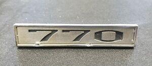 1966 AMC Rambler CLASSIC Metal Script Emblem SET W Pins NICE