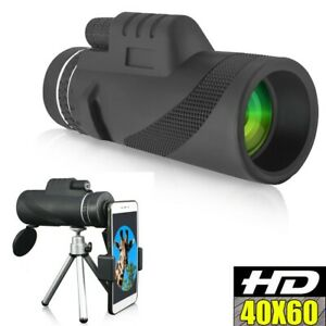 40X60-Zoom-Optical-HD-Night-Vision-Monocular-Telescope-Tripod-Clip-for-Outdoor