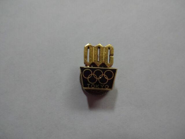 1964 TOKYO OLYMPIC ORGANIZER PIN BADGE JAPANESE PINS