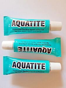 3-X-AQUATITE-5G-Flexible-Repair-Adhesive-Outdoor-Glue-Fishing-Camping-Sailing