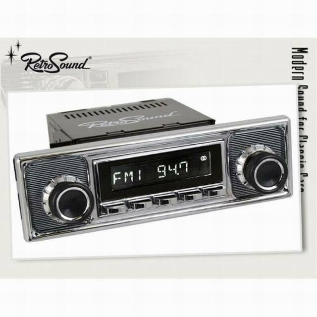 BMW 1500 1600 1800 Vintage Car Radio Becker Retro Look Design Fm UKW Aux