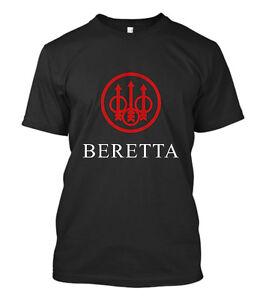 New-Beretta-Gun-T-SHIRT-Sniper-Riffle-Firearms-Logo-Men-Tee-Size-S-5XL