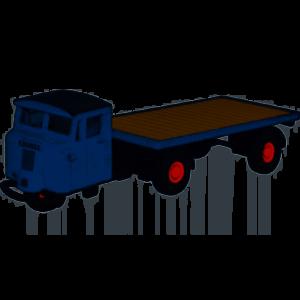 Oxford Diecast 1:76 Mechanical Horse Flatbed LNER 76MH020