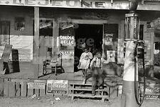 Lejune General Store Coca Cola ad Gas Service Station Photo 1936 South Louisiana