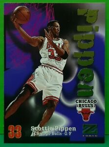 Scottie Pippen regular card 1997-98 Skybox Z-Force #66