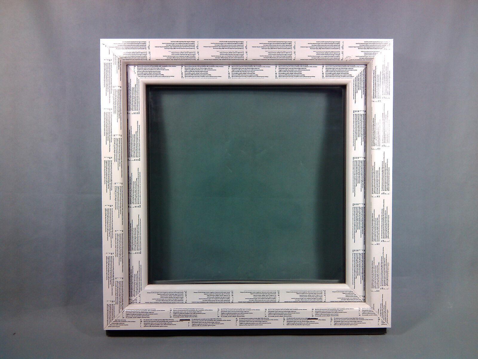 Kunststofffenster Fenster Salamander, 80x80 cm bxh, weiß