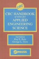 CRC Handbook of Tables for Applied Engineering Science (1973, Hardcover,...