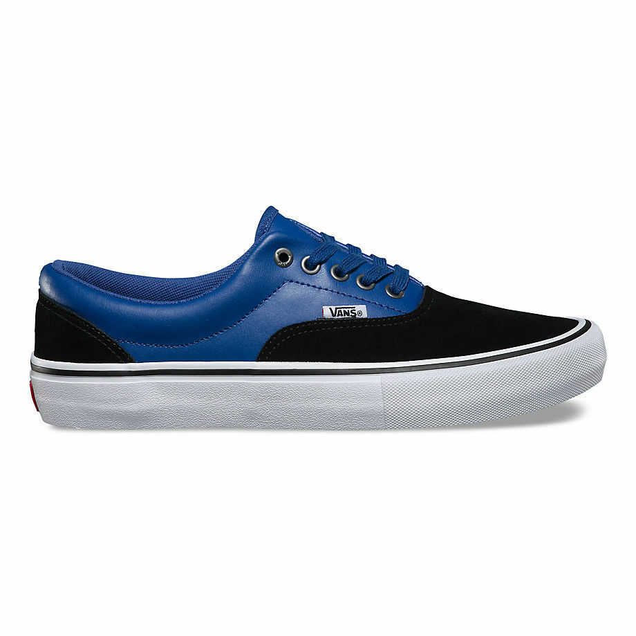 Vans Era Pro in x Real Skateboards Shoes in Pro Black/True Blue - Men's 7 - 11 NWT bca7a1