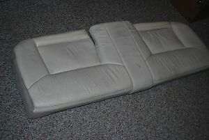 1997 98 lincoln mark viii oem ivory leather rear seat - Lincoln mark viii interior parts ...