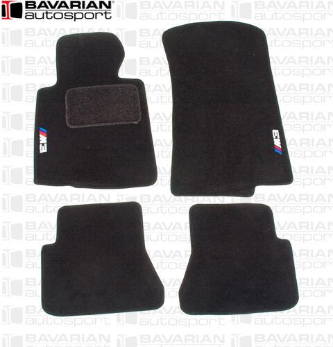 "OEM BMW Floor Mats - with ""M3"" Logo - Black - BMW E46 M3 Convertible 2001-2006"