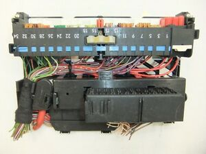 fuse box panel oem bmw e46 e83 x3 lci 320i 323ci 323i. Black Bedroom Furniture Sets. Home Design Ideas