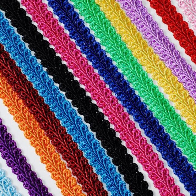 Braided Gimp Trim 25 yds Ribbon party wedding birthday decorations crafts DIY
