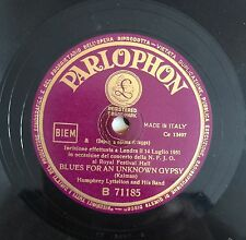 """RARE 78RPM 10"""" PARLOPHON HUMPHREY LYTTELTON BLUES FOR AN UNKNOWN GYPSY 1951"""