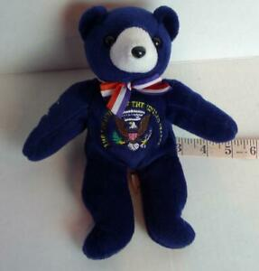 U-S-President-Teddy-Bear-Blue-with-Seal-not-for-children-under-three