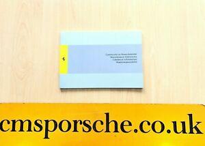 Ferrari Service Book 458 488 599 F12 FF GTC4 Portifino ...