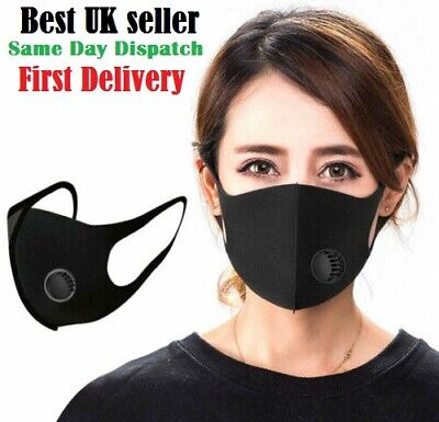 Protective Face Mask Reusable Washable Uk Stock Limited Offer Big Uk Ebay