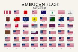 Flags-of-the-United-States-Chart-Classroom-Mural-Inch-Poster-36x54-inch