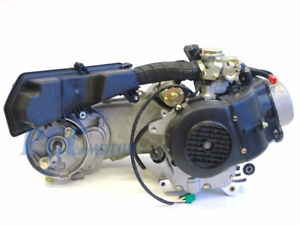 139qmb 50cc 4 stroke gy6 scooter long case engine motor auto carb mimage is  loading 139qmb