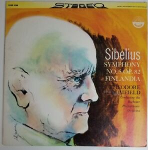 Details about Sibelius Symphony No 5 op 82 Finlandia Bloomfield EVEREST  SDBR-3068 LP