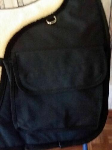 Anglais Western Australian Chabraque avec Polaire /& Poches Noir Bleu Marron Rouge