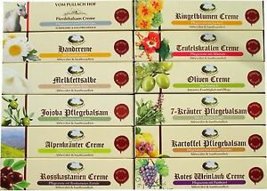 PULLACH-HOF-Pferdebalsam-Teufelskralle-Alpenkraeuter-Melkfett-uvm-12-Sorten
