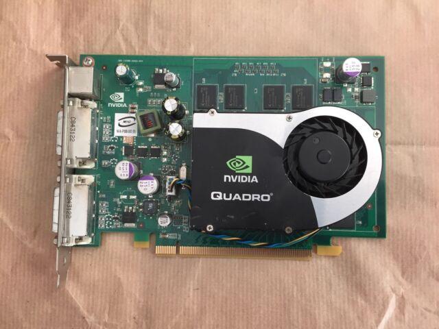 NVIDIA Quadro FX 1700 512MB PCIe Video Graphics Card Dual DVI