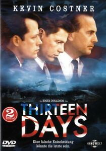 THIRTEEN-DAYS-Kevin-Costner-Bruce-Greenwood-2-DVDs
