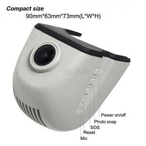 hidden wifi hd1080p 12v car dash cam dvr for audi a1 a4l. Black Bedroom Furniture Sets. Home Design Ideas