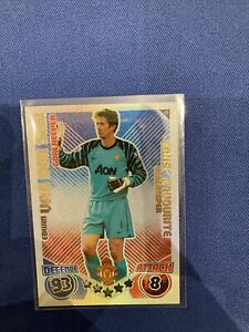 Topps Match Attax 2010/11- Van Der Sar Manchester Utd Shiny 'Fans Favourite' #F1