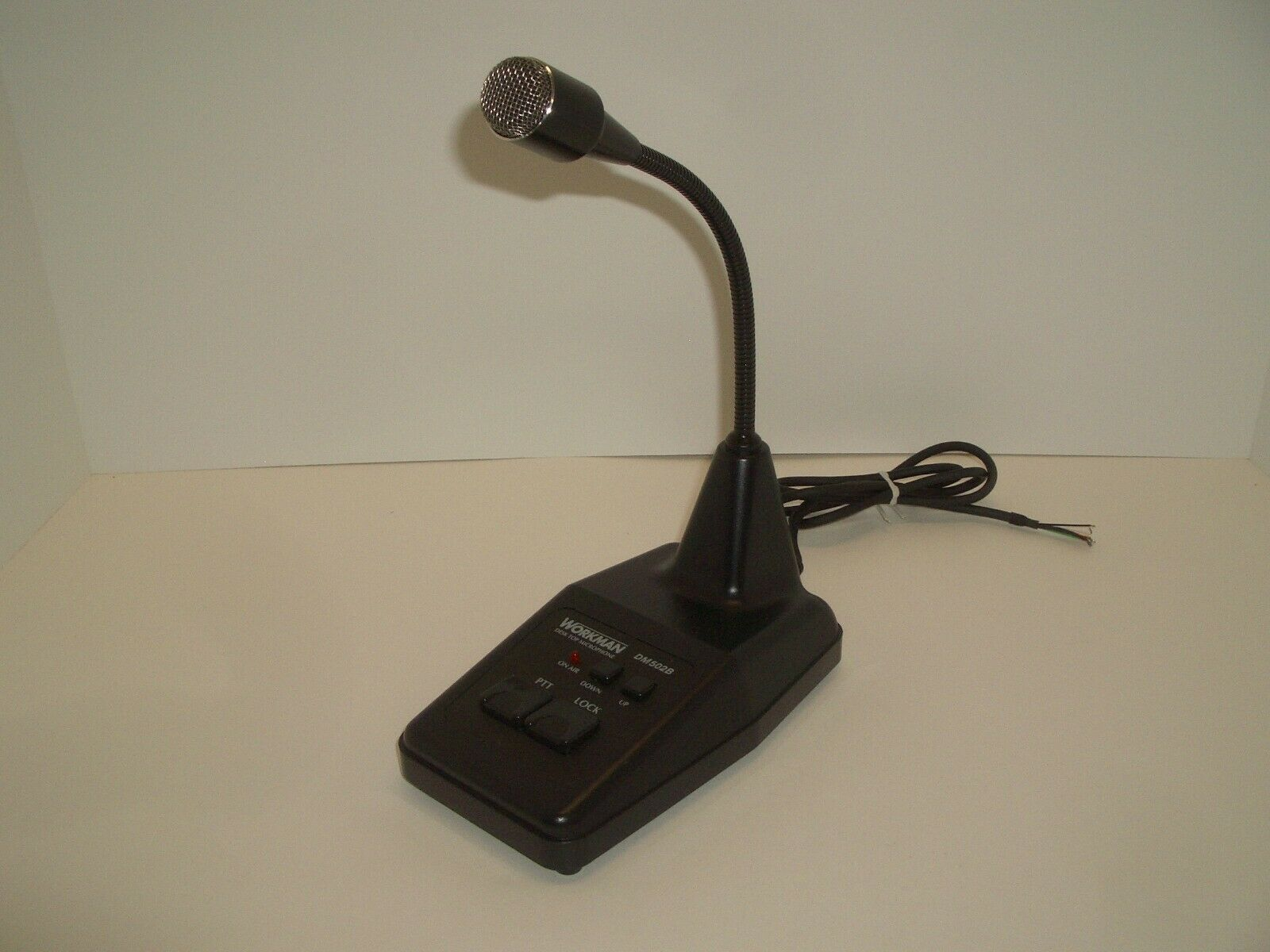 WORKMAN DM502B LAANTEK DTM502 CB HAM POWER AMPLIFIED DESK DESKTOP MICROPHONE. Buy it now for 75.95