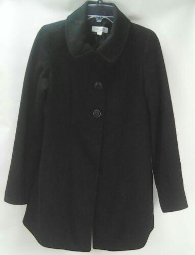 Liz Small Size Wool Blend per Peacoat Maternity Lange Black Target Jacket pwzvpAqr
