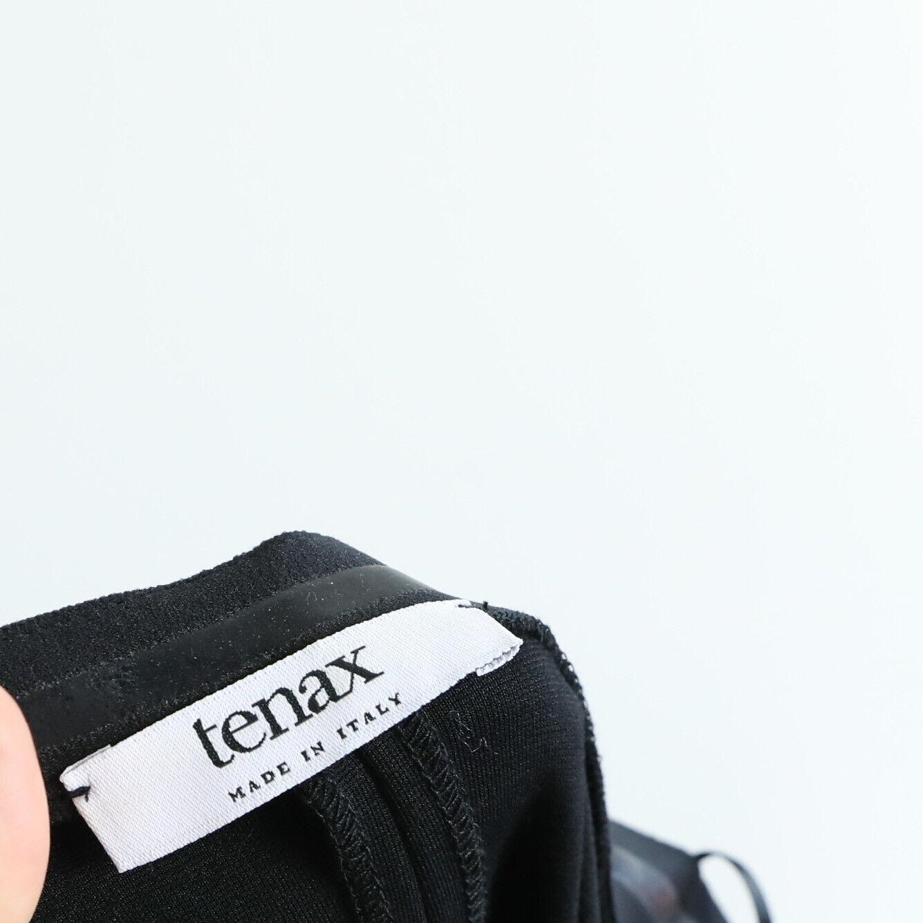 Tenax little black dress form fitting front zip 5… - image 4