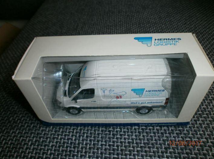 Hermes Logistik Gruppe, modello pubblicitari, HLG, 1,43 stata limitata U. RARO, modello, Minichaps